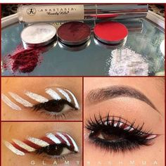 Love this candy cane look