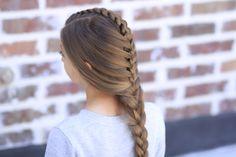Tuxedo Braid  #hairstyles #hairstyle #CGHtuxedobraid #braid #dutchbraid #frenchbraid #longhairstyle #cutegirlshairstyles