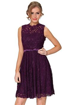 SEXYHER Fashion Lace Covered Short Backless Evening Bridesmaid Dress  COYP8003 ** You can get more details by clicking on the image.