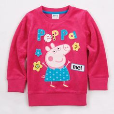 Poleron Fucsia Peppa Pig Peppa Pig Baby, Toddler Outfits, Kids Outfits, Pig Girl, Kids Branding, Free Clothes, Sewing For Kids, Girl Fashion, Fashion Spring