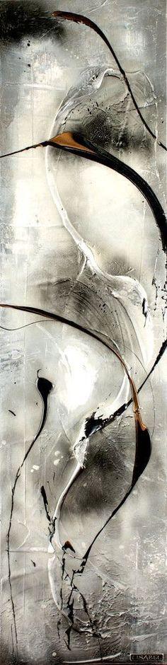 SOMETIME 48X12 http://www.lisabelonline.com/ #abstractart