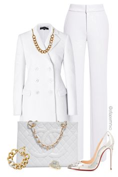 """""""White Noise"""" by efiaeemnxo ❤ liked on Polyvore"""