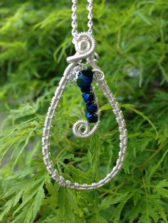 Silver wrap with crystals  by Katalin KB Walcott