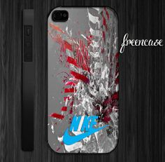 Nike water design iPhone case for iphone 4 caseiphone by FreenCase, $15.55