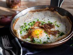 Egg Hoppers - Spiegelei trifft Pfannkuchen