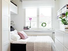 my design ethos: Working with a very small bedroom
