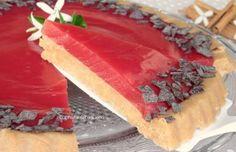 crostata fredda all'anguria