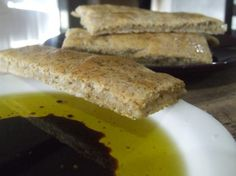 Almond Flour Flatbread sounds perfect with olive oil and herbs fro dipping