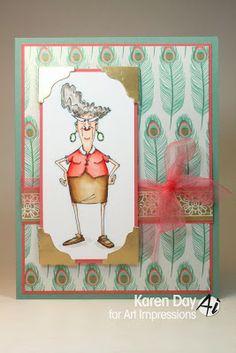 Golden Oldie, Eunice (Sku#K1619) Art Impressions