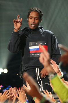 asap rocky Plus Asap Rocky Fashion, Lord Pretty Flacko, A$ap Rocky, Don Juan, American Rappers, Fine Men, Celebs, Celebrities, Baby Daddy