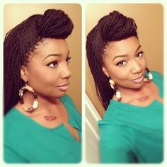 hair idea: since you will have senegalese twist...think about having them styled really feminine and mostly down.
