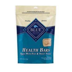 BLUE BUFFALO HEALTH BARS FISH & SWEET POTATO TREATS