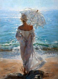 O trabalho absurdamente lindo do pintor espanhol Vincent Romero Redondo.