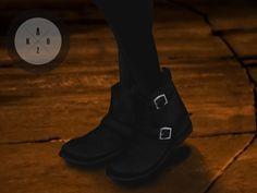 Lana CC Finds - Pixicat Biker Boots F by [KΛOZ.]