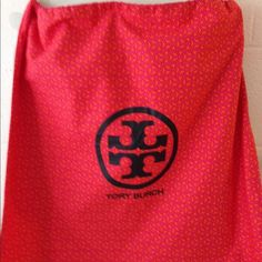 """Tory Burch Dust Bag New Tory Butch dust with large black signature logo. Measures 14"""" tall x 15"""" wide. Tory Burch Accessories"""