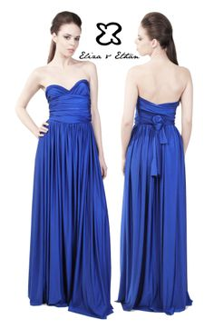Eliza and Ethan - Multiway - Infinity -  Bridesmaids Dresses - OneSize - Maxi MultiWrap Dress Color: Sapphire