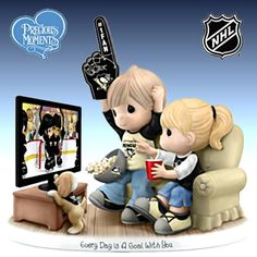 Every Day Is A Goal With You Pittsburgh Penguins Figurine
