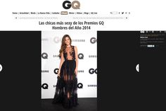 Malena Costa dressed by #charoruizibiza at GQ awards described by the media as one of the best looks of the night and the week