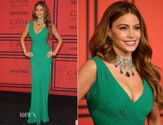 Sofia Vergara In Herve L Leroux - 2013 CFDA Fashion Awards
