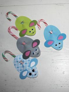 Mäuschen mit Zuckerstangen