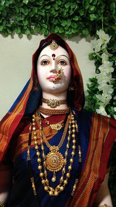 Gauri Decoration, Mother Goddess, Durga Goddess, Sanskrit, Mythology