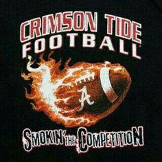 Crimson Tide Football Smoking The Competition Alabama Tide, Alabama Crimson Tide Logo, Crimson Tide Football, Alabama College Football, University Of Alabama, Alabama Tattoos, Nick Saban, Thing 1, Roll Tide