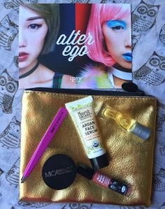 Nerdy Girl in a Beauty World: My October & November Ipsy Glam Bags!