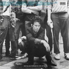 Tom Waits - Rain Dogs back cover