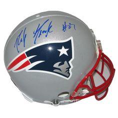 Rob Gronkowski Signed Authentic Helmet #Patriots