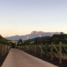 Sunset views on the Farm Blog Voyage, Vineyard, Country Roads, Mountains, Sunset, Architecture, Nature, Cape, Travel
