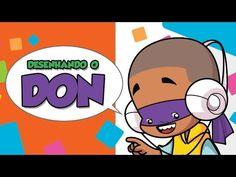 Como desenhar Don | Tartarugas Ninja - How to draw Don - Teenage Mutant ...