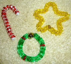 Easy bead ornaments for kids #Christmas
