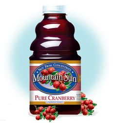 Pure Cranberry Juice.