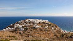 Sifnos, Cyclades, Grèce: vue sur le village de Kastro Le Village, City Photo, West Coast, Archipelago