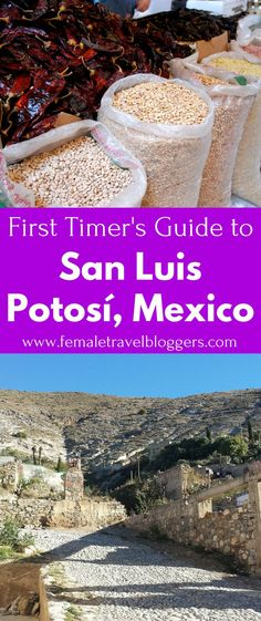 Mexico is a beautiful, vibrant country. You'll want to read this city guide before you visit San Luis Potosí, Mexico. It includes food to try in Mexico, things to do in San Luis Potosí, Mexico, phrases to know in Spanish, and much more. Make sure you save this Mexico travel guide to your travel board so you can find it later.