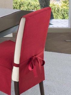 16 Example of a chair cover to give the dining room a different look . 16 Example of a chair cover to give the dining room a different look
