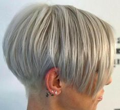 Choppy Bob Hairstyles, Cool Short Hairstyles, Undercut Hairstyles, Short Hair Cuts For Women, Short Hair Styles, Bobs For Thin Hair, Pixie Haircut, Hair Dos, Pixies