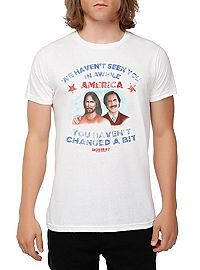 HOTTOPIC.COM - Anchorman 2: The Legend Continues Ron And Jesus T-Shirt