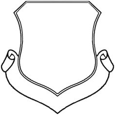 Blank Coat Of Arms Shield Designs