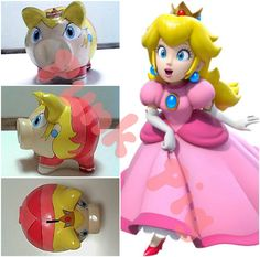 Princesa Peach - Super Mario Bros