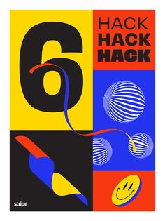 Hackathon Poster Series is a beautiful project designed by Mercedes Bazan which has been featured by Mindsparkle Mag´s best selection of Design. Kids Graphic Design, Graphic Design Posters, Game Design, Techno, Posters Conception Graphique, Juice Branding, Free Typeface, Poster Series, Bullet Journal Art