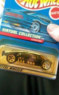 1999 Mattel Hot Wheel Virtual Collection 1:64 Lakester Cars Future Hot Wheels 3+ #Mattel