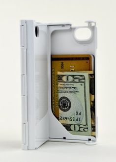 With all the options for cases available to the iPhone, I wanted something versatile and utilitarian.I saw some people use cases that could hold a single credit card or ID, and thought -- what if I could replace my whole wallet?