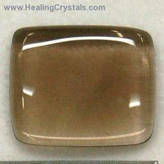 "Cabochon - Smokey Quartz Free-Form Cabochons ""Extra""- Smokey Quartz - Healing Crystals"