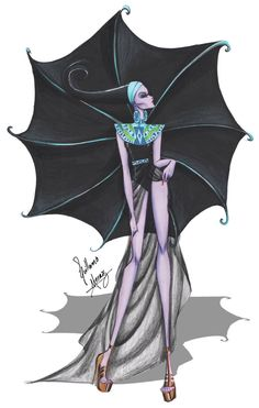 Yzma in Haute Couture by Guillermo Meraz by frozen-winter-prince on deviantART
