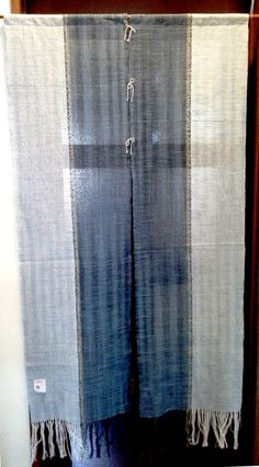 Hand woven Japanese 'Noren' curtain / room devider by Hataoto More