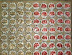 BOTTLE CAPS * NO DENTS * 100 STELLA GOLD RED  CORONA SMIRNOFF RED STRIPE BECKS #STELLAARTOISCORONASMIRNOFFICEGREENAPPLE