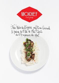 """Plat du restaurant l'empereur de Hué: """"Porc Noir de Bigorre confit au caramel et poivre de l'ile de Phi Quoc"""" à faire avec MoiChef en moins de 30 min"""