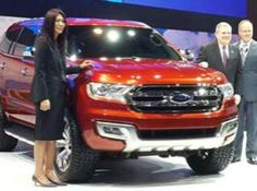 The next-gen Ford Endeavour SUV has been revealed in the form of the Everest concept at the 2014 Bangkok motor show.