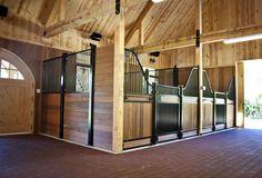 Traditional Wood Barn | Combination Barn Project DBA709 | Photo Gallery